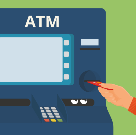 ATMs are an easy target for thieves.