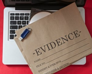Electronic evidences are beeing used more and more in court.