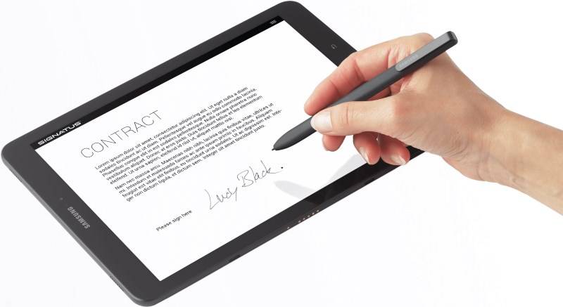 A lot of big firms have switched to electronic signatures.